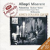 Allegri: Miserere / Palestrina: Stabat Mater by Various Artists