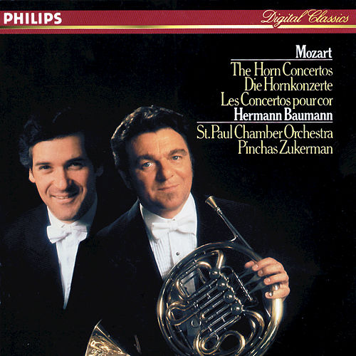 Mozart: The Horn Concertos by Hermann Baumann