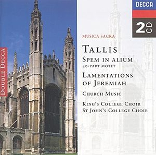 Tallis: Spem in Alium; The Lamentations of Jeremiah etc. by Various Artists