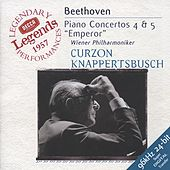 Beethoven: Piano Concertos Nos.4 & 5 by Sir Clifford Curzon