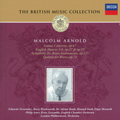 Arnold: Guitar Concerto; English Dances; Symphony for Brass, etc. by Various Artists