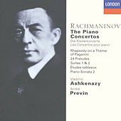 Rachmaninov: The Piano Concertos, etc. by Vladimir Ashkenazy