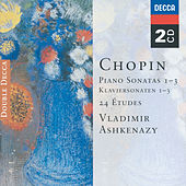 Chopin: Piano Sonatas Nos. 1 - 3; 24 Etudes; Fantaisie in F minor by Vladimir Ashkenazy