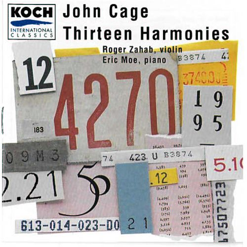 Thirteen Harmonies by John Cage