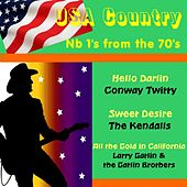 USA Country No.1's from the 70's by Various Artists