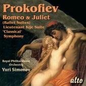 Prokofiev: Romeo & Juliet (highlights); Symphony No. 1; Lieutenant Kije by Royal Philharmonic Orchestra