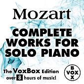 Mozart: Complete Works for Solo Piano (The VoxBox Edition) by Walter Klien