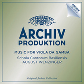 Music For Viola Da Gamba by Various Artists