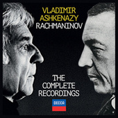 Rachmaninov: The Complete Recordings by Vladimir Ashkenazy
