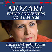 Mozart: Piano Concertos No. 21, 24 & 26 by Dubravka Tomsic
