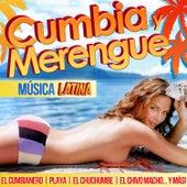 Cumbia Merengue. Música Latina by Various Artists