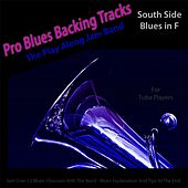 Pro Blues Backing Tracks (South Side Blues in F) [12 Blues Choruses With Tips for Tuba Players] by The Play Along Jam Band