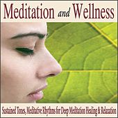 Meditation and Wellness: Sustained Tones, Meditative Rythmes for Deep Meditation Healing & Relaxation by Robbins Island Music Group