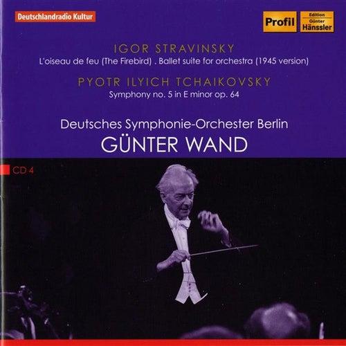 Stravinsky: Firebird Suite (1945 Version) - Tchaikovsky: Symphony No. 5 by Deutsches Symphonie-Orchester Berlin