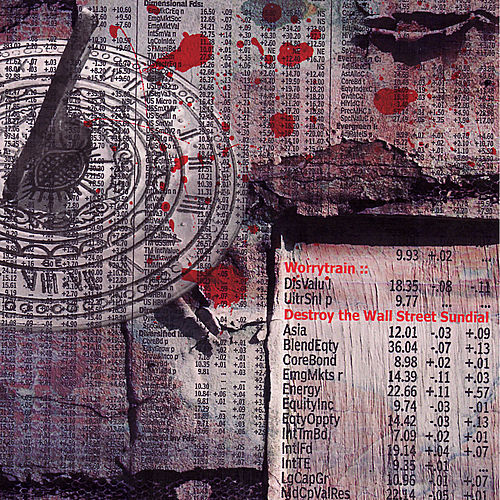 Destroy The Wall Street Sundial by Worrytrain
