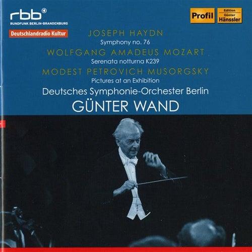 Haydn: Symphony No. 76 - Mozart: Serenata notturna, K239 - Mussorgsky: Pictures at an Exhibition (Arr. M. Ravel) by Deutsches Symphonie-Orchester Berlin