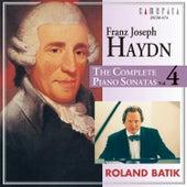 Haydn: The Complete Piano Sonatas Vol. 4 by Roland Batik