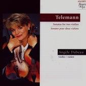 Sonatas for Two Violins (Sonates Pour Deux Violins) by Angèle Dubeau
