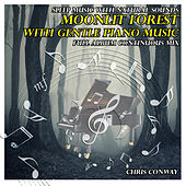 Sleep Music with Natural Sounds: Moonlit Forest with Gentle Piano Music by Chris Conway