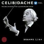 Brahms: Nos. Symphonies 2 - 4 by Sergiu Celibidache