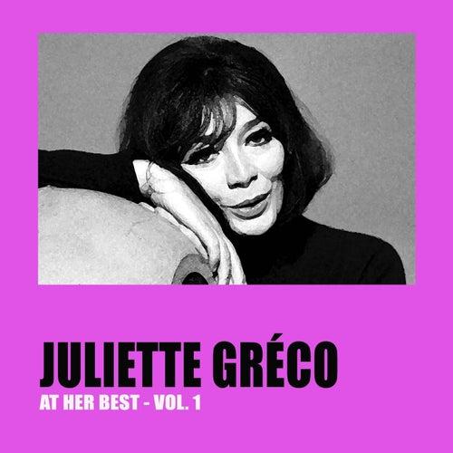 Juliette Gréco at Her Best, Vol. 1 by Juliette Greco