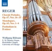 Reger: Organ Works, Vol. 15 by Wolfgang Rubsam
