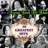 50 Greatest Hits Best of Ustad Nusrat Fateh Ali Khan Sufi Songs and Qawwalies by Nusrat Fateh Ali Khan