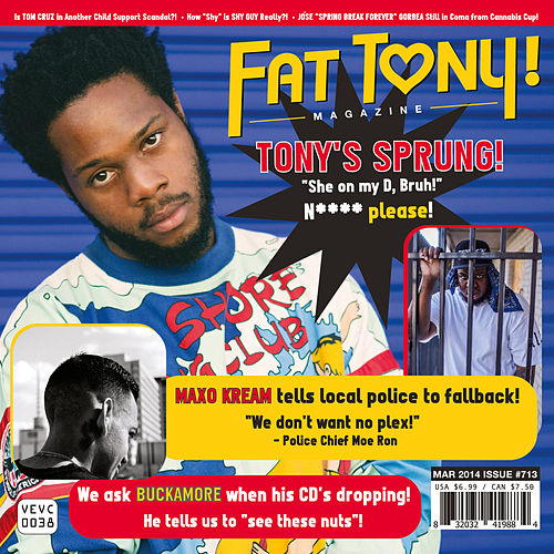 No More b/w Love Me by Fat Tony
