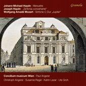 M. Haydn: 6 Minuetti, (P. 70) - J. Haydn: Sinfonia concertante, Hob. I:105 - Mozart: Symphony No. 41, K. 551 by Concilium Musicum Wien