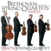 Beethoven Middle String Quartets by Orion String Quartet