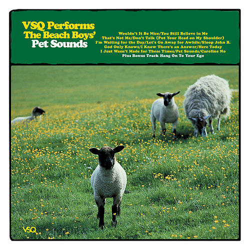 The String Quartet Tribute to The Beach Boys: Pet Sounds by Vitamin String Quartet