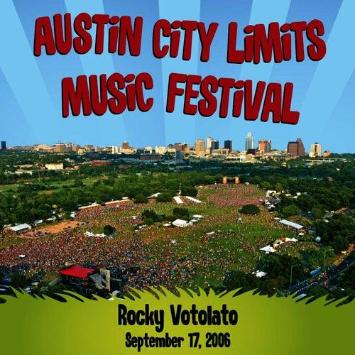 Live at Austin City Limits Music Festival 2006: Rocky Votolato by Rocky Votolato