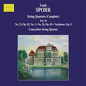 Spohr: Complete String Quartets, Vol. 16 by Moscow Philharmonic Concertino String Quartet