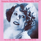 The Personality Girl, Vol. 3, 1926-1928 by Annette Hanshaw