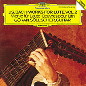 Bach, J.S.: Works for Lute Vol.2 by Göran Söllscher