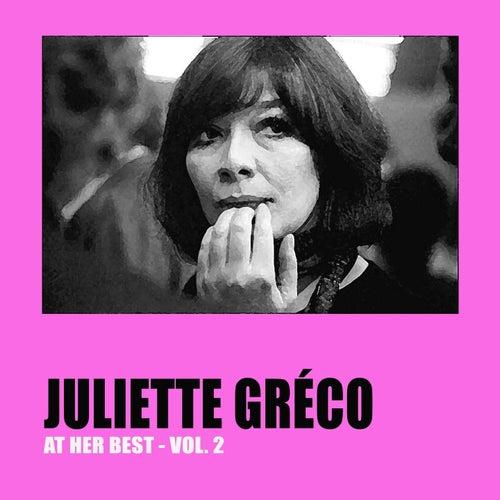 Juliette Gréco at Her Best, Vol. 2 by Juliette Greco