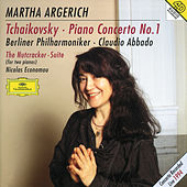 Tchaikovsky: Piano Concerto No.1; The Nutcracker Suite by Martha Argerich