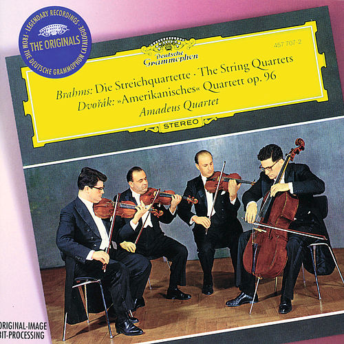 Brahms: The String Quartets / Dvorak: 'Amerikanisches' Quartett Op.96 by Amadeus Quartet