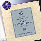 Bach: 6 Cello Suites BWV 1007, 1008, 1009, 1010, 1011 & 1012 by Pierre Fournier