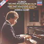 Bach, J.S.: Two and Three Part Inventions by András Schiff