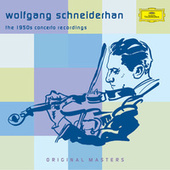 The 1950s Concerto Recordings by Wolfgang Schneiderhan