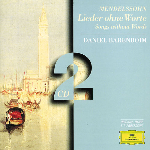 Mendelssohn: Songs without Words by Daniel Barenboim