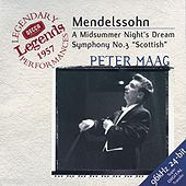Mendelssohn: Symphony No.3; A Midsummer Night's Dream by Various Artists