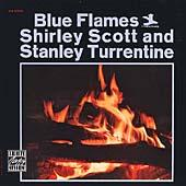 Blue Flames by Shirley Scott
