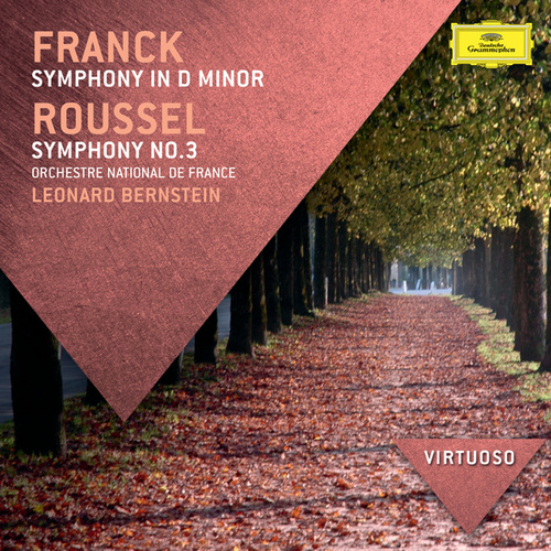 Franck: Symphony In D Minor; Roussel: Symphony No.3 by Orchestre National de France