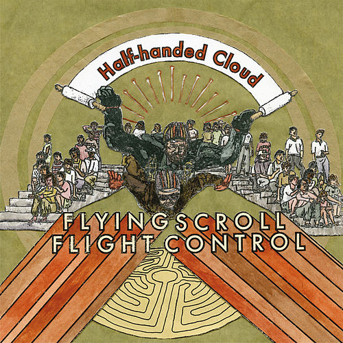 Flying Scroll Flight Control by Half-Handed Cloud