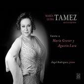 Canta a Maria Grever y Agustin Lara by María Luisa Tamez
