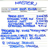 I Can't Stop: The Masters by Elissa