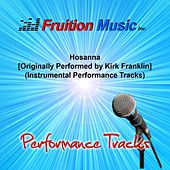 Hosanna (Originally Performed by Kirk Franklin) [Instrumental Performance Tracks] by Fruition Music Inc.