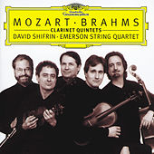 Mozart / Brahms: Clarinet Quintets by Emerson String Quartet